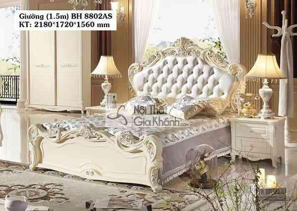 Những mẫu giường ngủ mới nhất tại Nội thất Gia Khánh