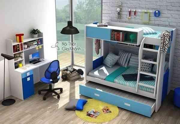 Sắm giường tầng cho bé trai và bé gái xinh xắn và an toàn (3)