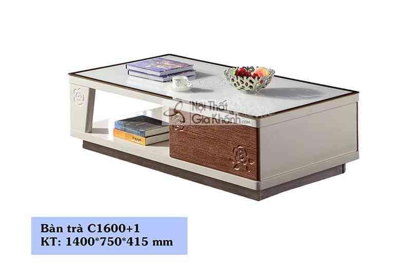 Bàn ăn mặt đá công nghiệp kích thước nhỏ T1680+3B1m23