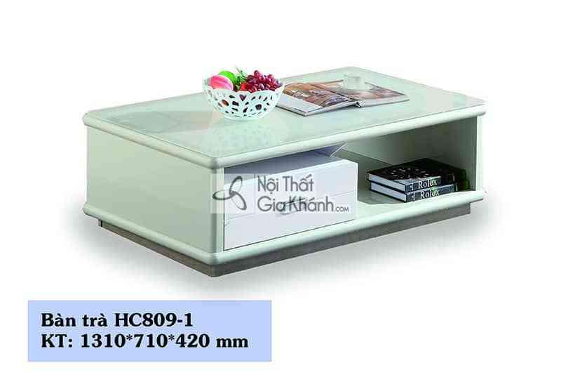 Bàn trà mặt kính hiện đại HC809-1