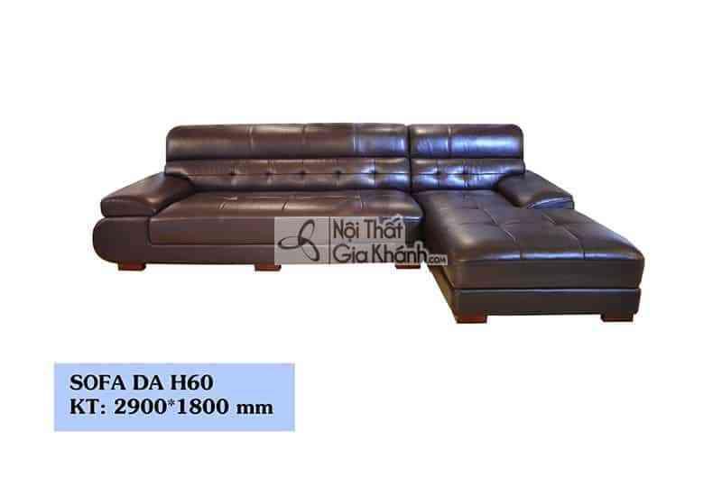 Sofa Hiện Đại 2 Băng Góc Trái Mã H60Sf2Gt