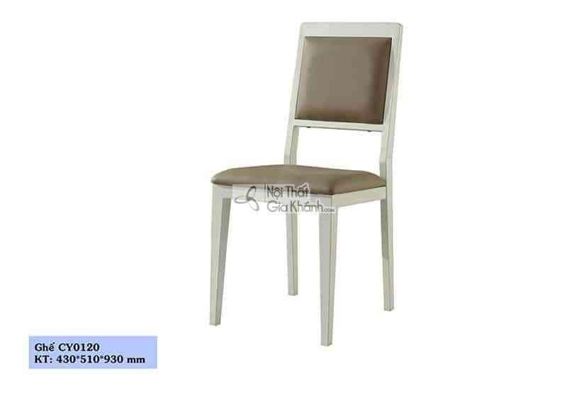 Ghế ăn bọc da cao cấp cho phòng ăn sang trọng CY0120