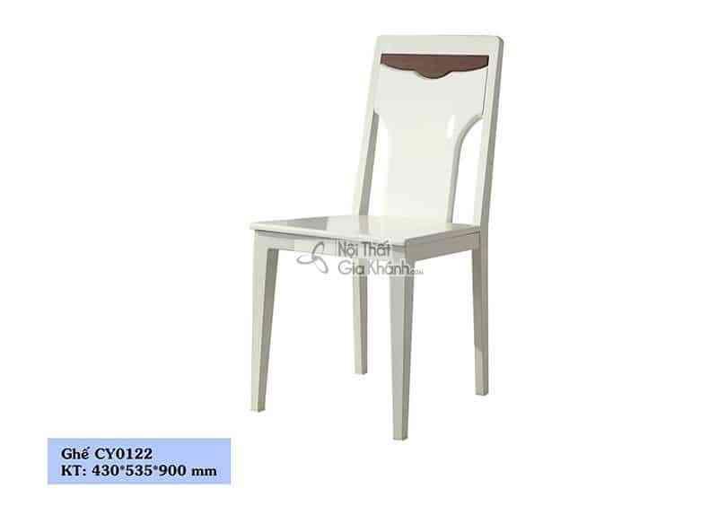 Ghế ăn gỗ công nghiệp cho phòng ăn sang trọng CY0122