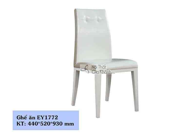 Ghế ăn bọc da cao cấp kiểu dáng thanh lịch EY1772