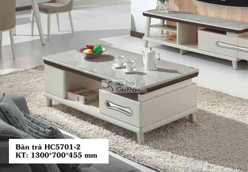 HC5701HC5701 2 - Bàn trà (Bàn Sofa) gỗ nhỏ gọn cho phong cách hiện đại HC5701-2