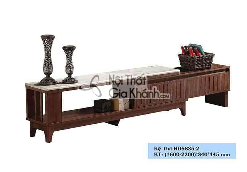 Kệ tivi gỗ công nghiệp đa năng nhập khẩu từ Trung Quốc HD5835-2
