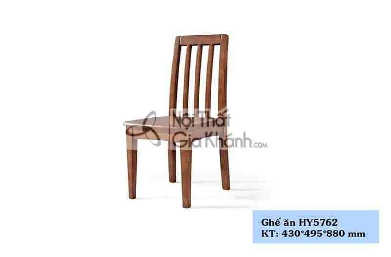 Ghế ăn gỗ màu nâu kiểu dáng đơn giản HY5762