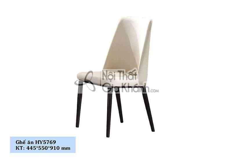 HY5769 - Ghế ăn nỉ chân kim loại cao cấp HY5769