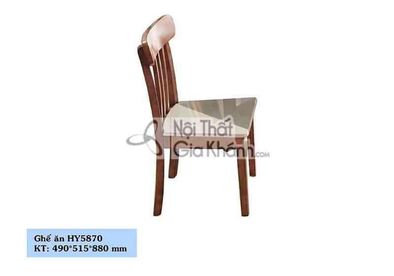 Ghế ăn gỗ phong cách hiện đại HY5870