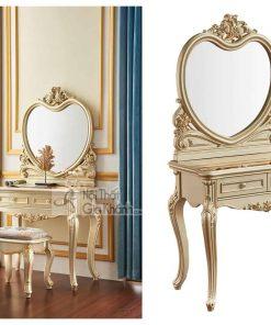 Mẫu bàn ghế trang điểm gỗ đẹp BD8803A (Mẫu mới nhất)