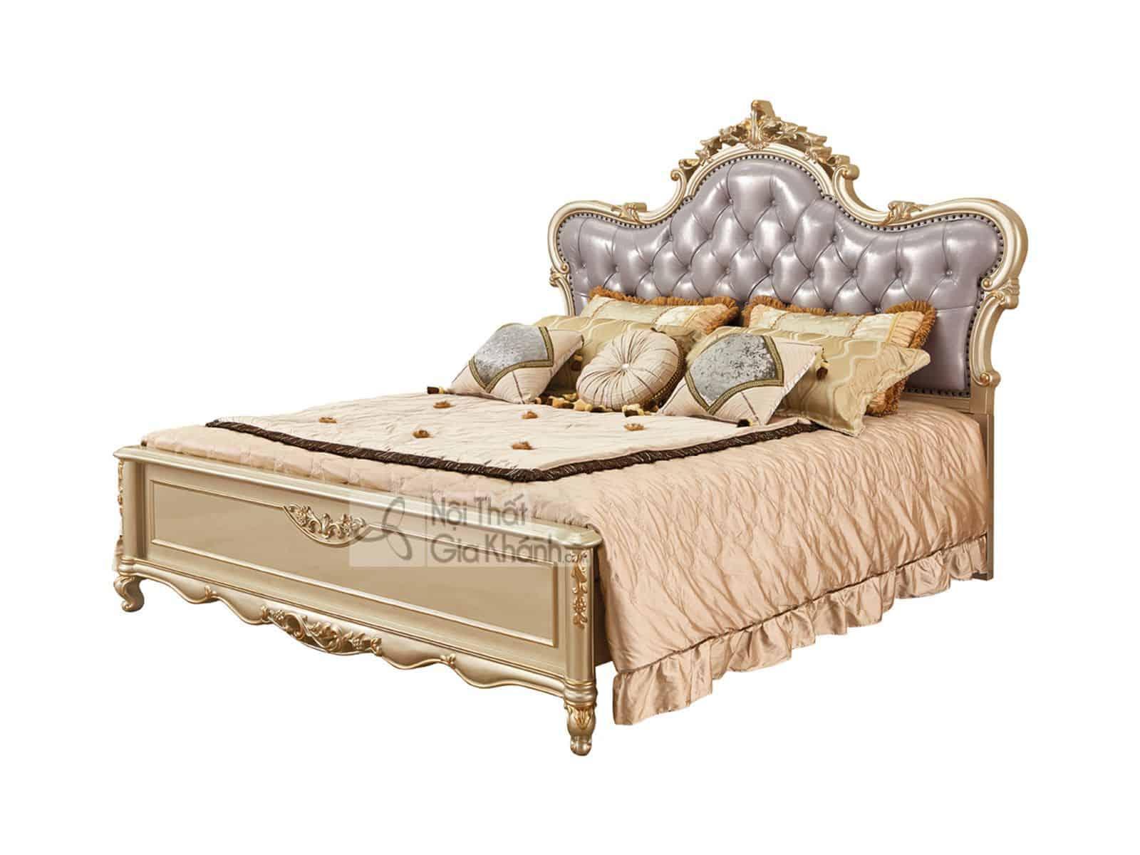 giuong ngu go soi nhap khau gk8835al 1 - Giường ngủ gỗ đẹp nhập khẩu cao cấp GI8835A (Mẫu mới nhất)