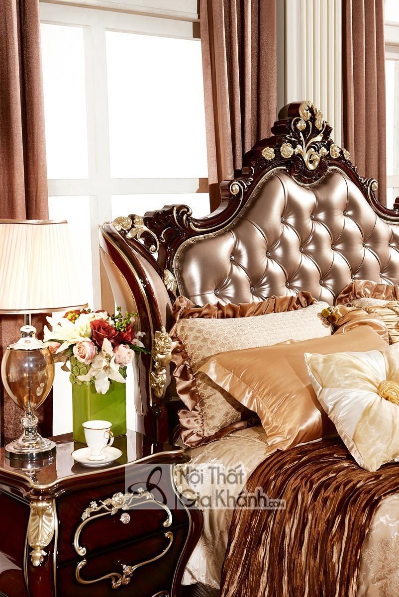 Bộ Giường Ngủ Tân Cổ Điển Sang Trọng Bn8818G
