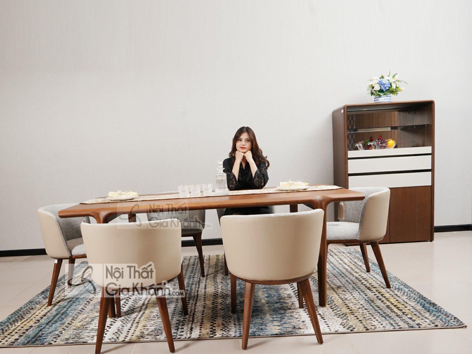 Bàn ăn 8 ghế hiện đại