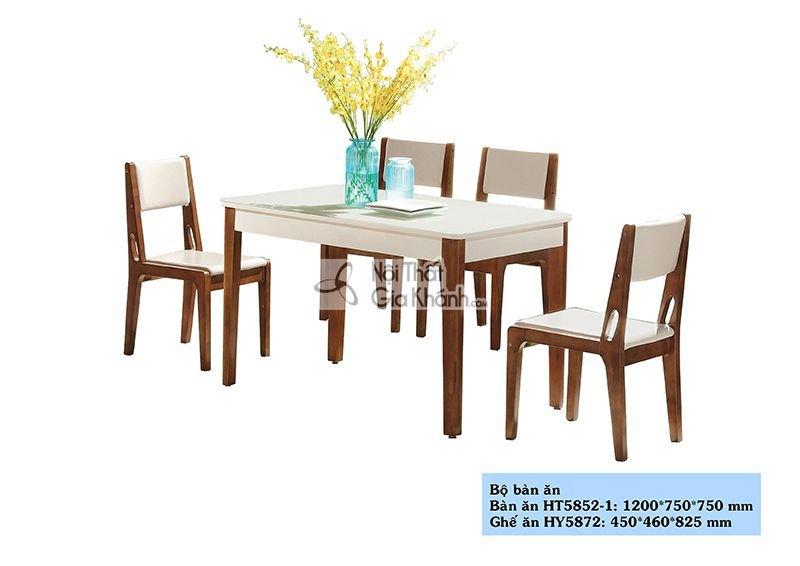 Bộ bàn ăn nhập khẩu HT5852