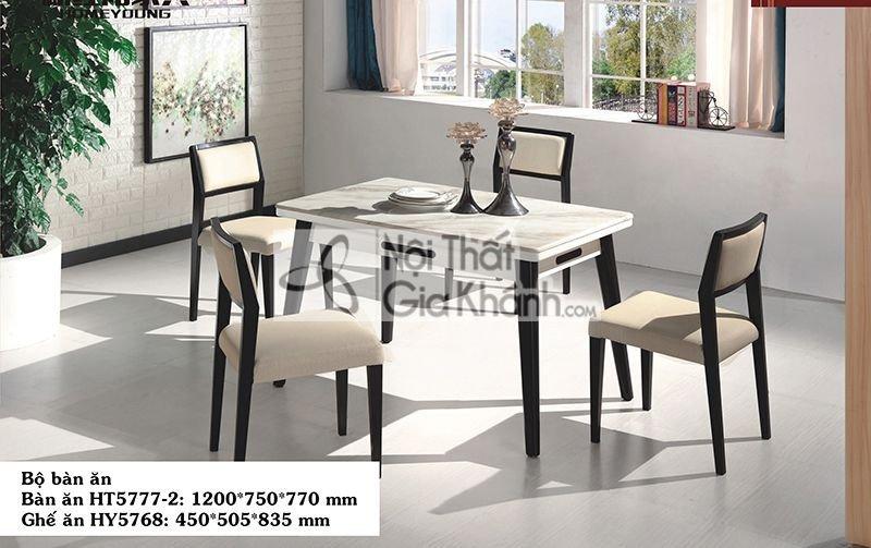 Bộ bàn ăn nhập khẩu HT5777
