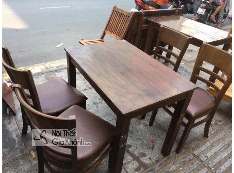 Có nên mua bộ bàn ghế ăn cũ? - co nen mua bo ban ghe an cu