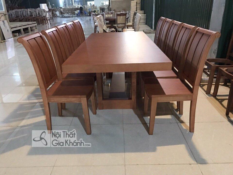 Ghế ăn gỗ sồi kiểu hiện đại