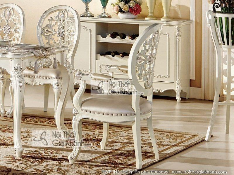 Ghế ăn cổ điển có tay sang trọng H8801Y