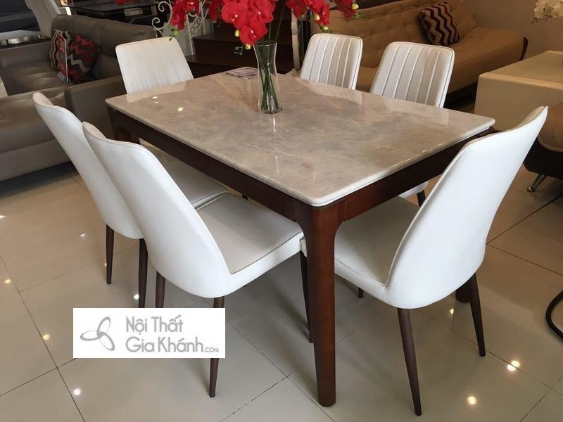 bàn ăn phù hợp với vị trí đặt bàn