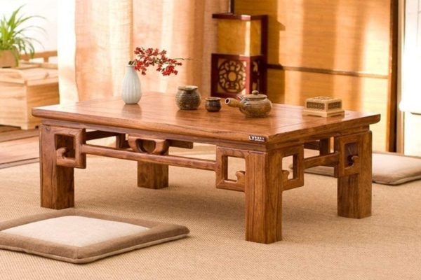 Mua bàn trà Nhật ngồi bệt cần quan tâm những gì?