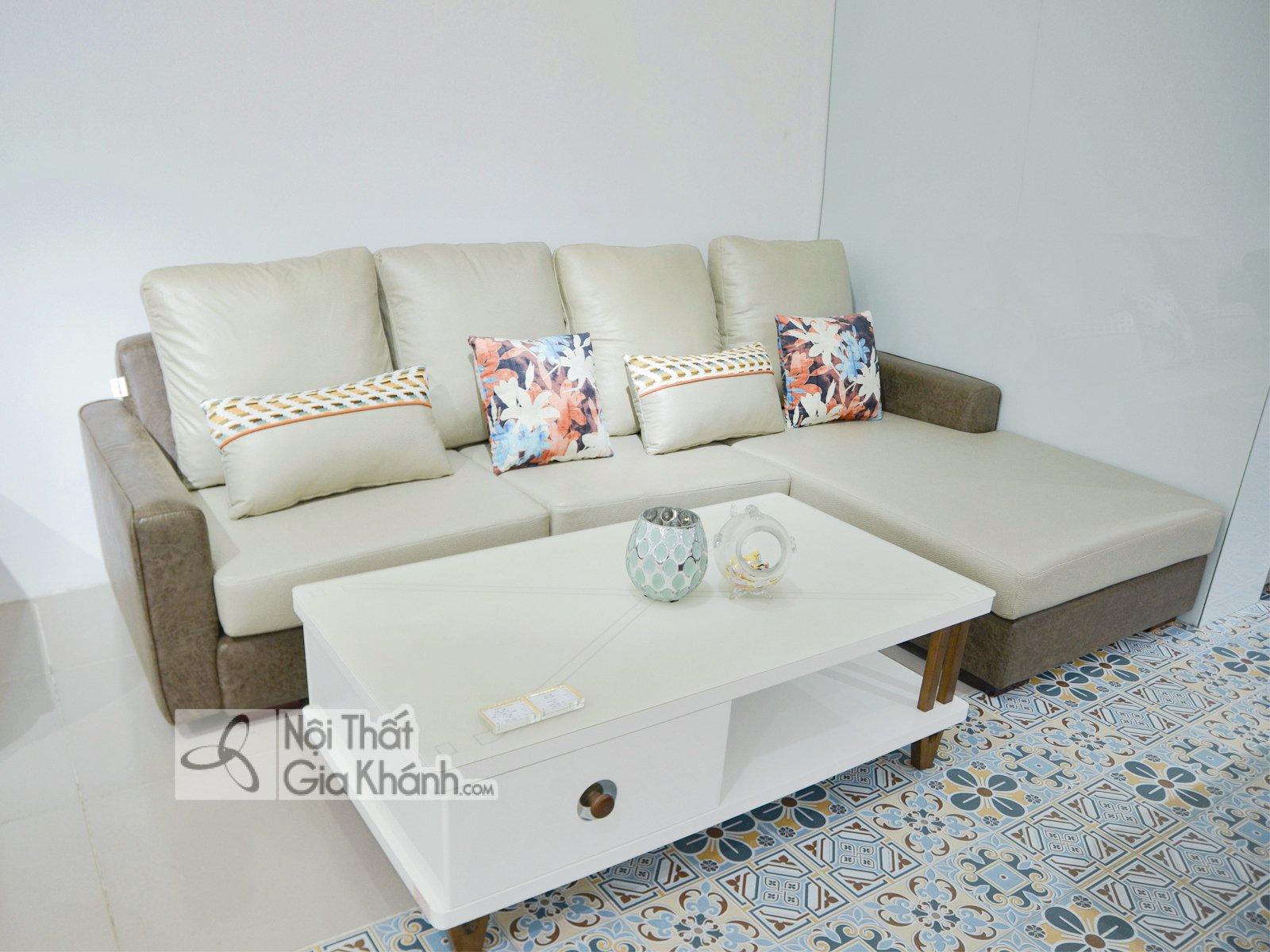 Sofa 2 Băng Góc Trái Nỉ Nano Chống Thấm Nước Str813-2