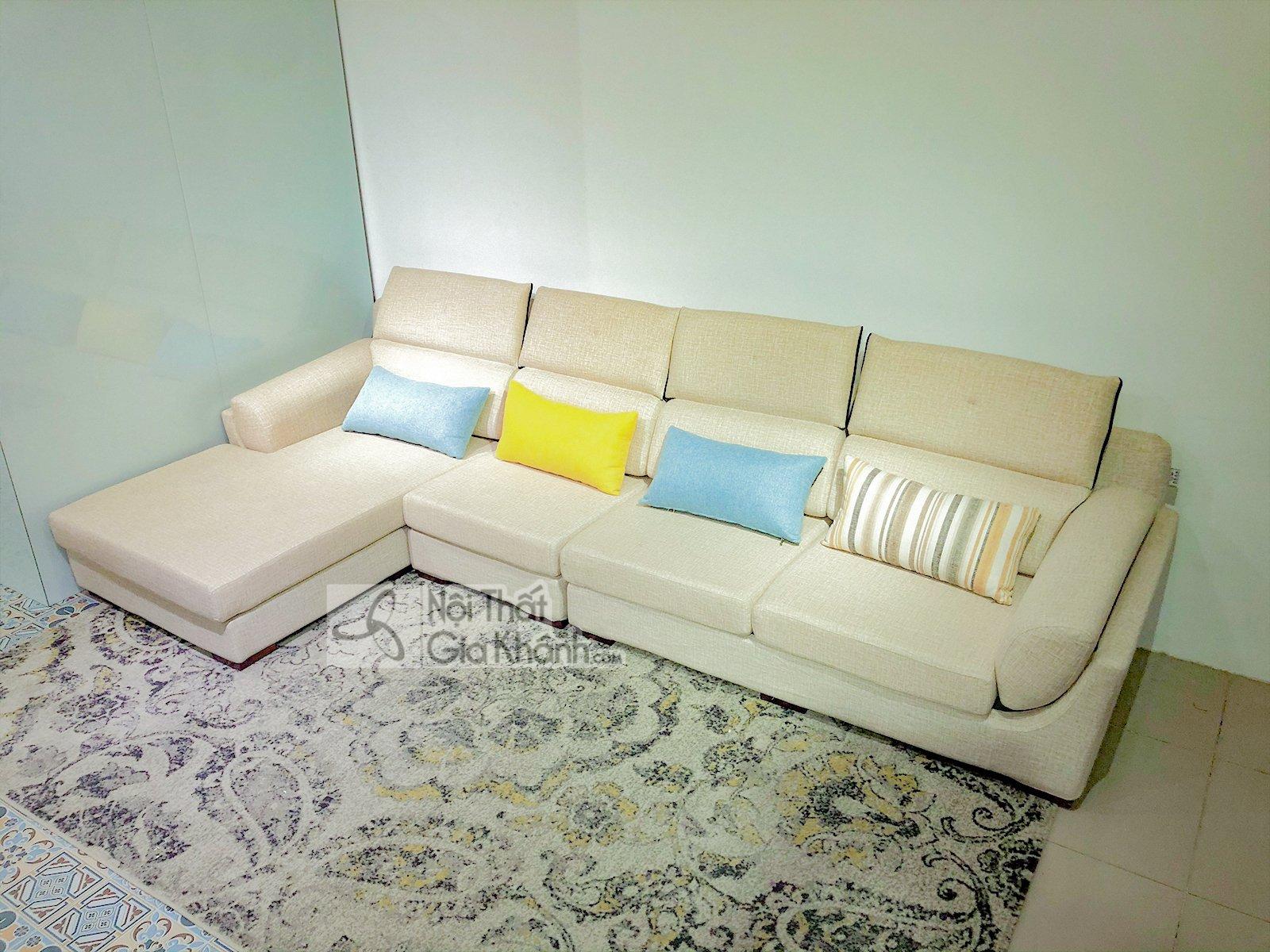 Sofa Chữ L Hiện Đại Nhập Khẩu Cao Cấp Mã 9001Sf3Gp