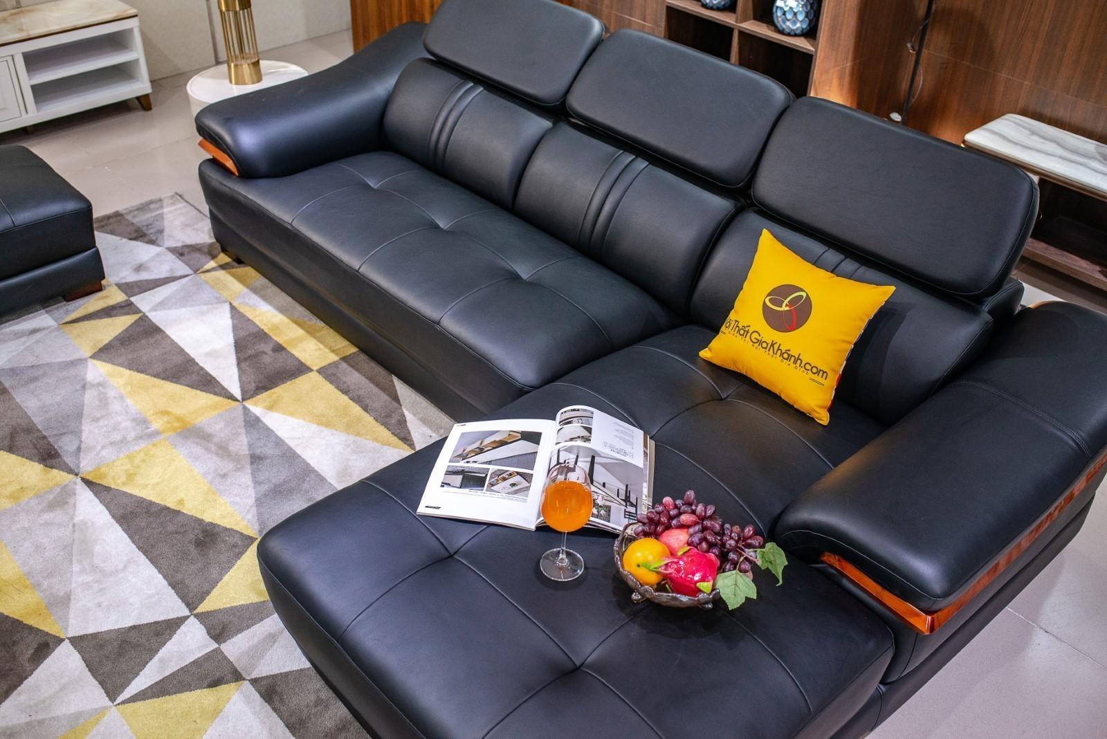 Sofa Da 2 Băng Góc Trái St0672-2-C1