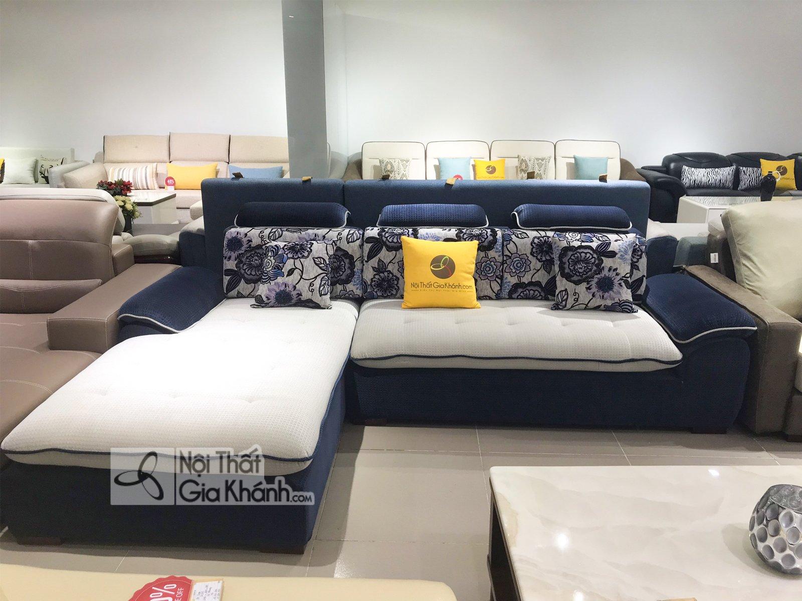 Sofa nỉ nhập khẩu cho phòng khách 315SF