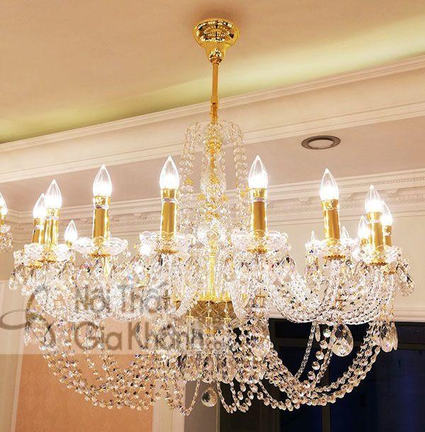 7 mẫu đèn chùm treo trần sang trọng, đa phong cách