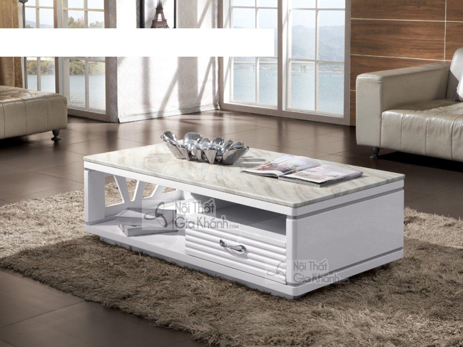 Bàn trà mặt đá của thương hiệu Modern Furniture