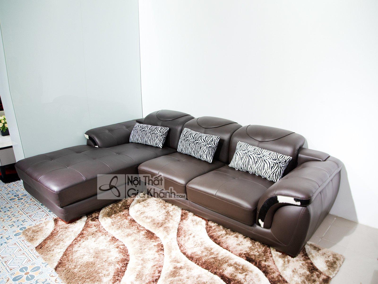 bo sofa 2 bang da bo nhap khau cao cap sf919 2b 19 - Sofa da hiện đại cho phòng khách SP0919-2-A1