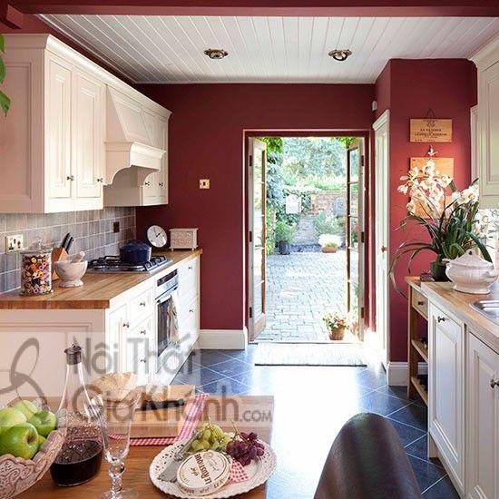 Gợi ý chọn màu sơn nhà bếp đẹp - goi y chon mau son nha bep dep 2