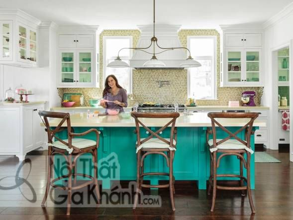 Gợi ý chọn màu sơn nhà bếp đẹp - goi y chon mau son nha bep dep 3