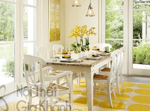 Mẫu thiết kế phòng ăn đẹp hoàn hảo cho gia đình ít người - mau thiet ke phong an dep hoan hao cho gia dinh it nguoi 1