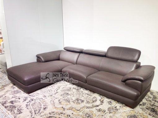 Sofa Da Góc Chữ L Hiện Đại Sf933-2B