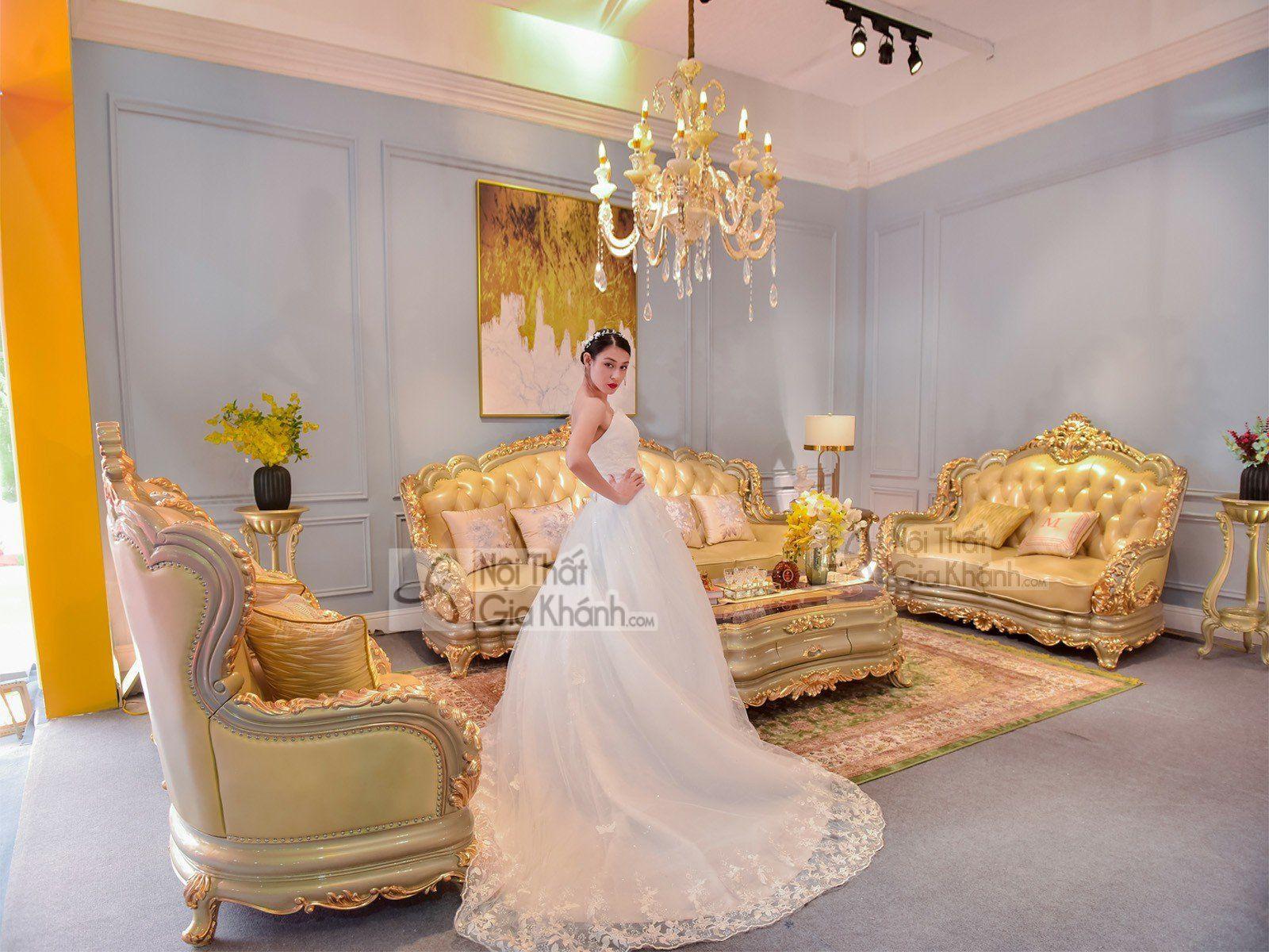 Bộ Sofa Tân cổ điển phong cách Hoàng Gia Pháp