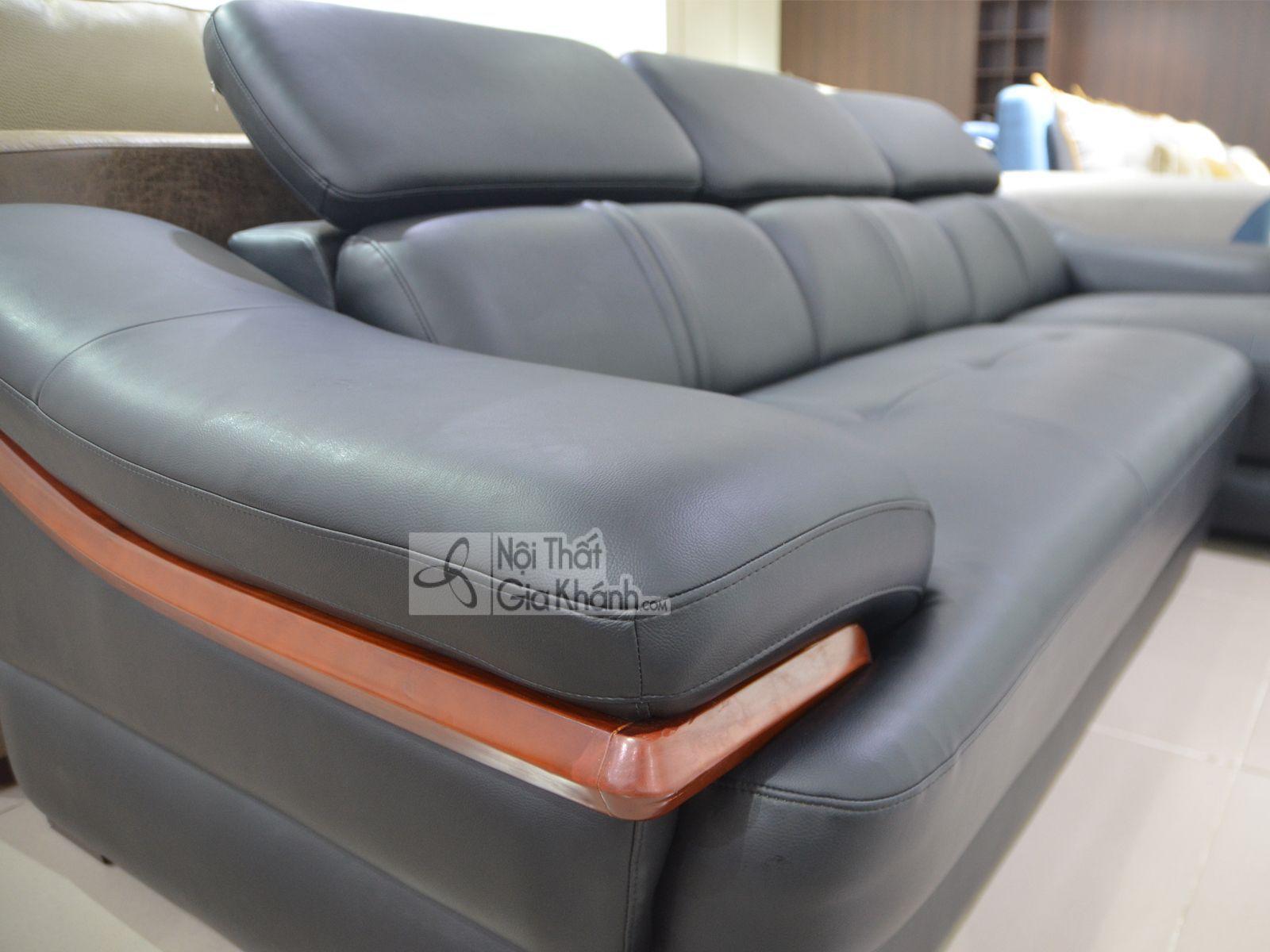 sofa da phong khach 6725d sf 2 - Sofa da 2 băng góc trái ST0672-2-C1