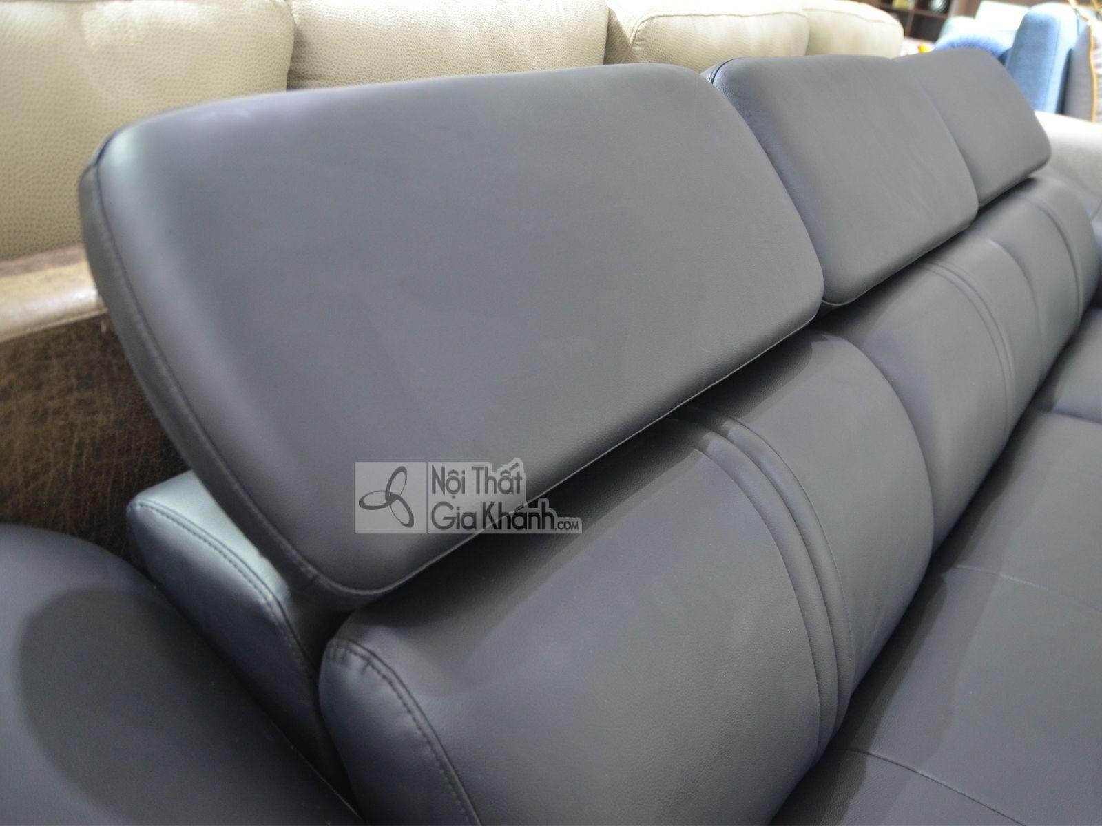 sofa da phong khach 6725d sf 3 - Sofa da 2 băng góc trái ST0672-2-C1
