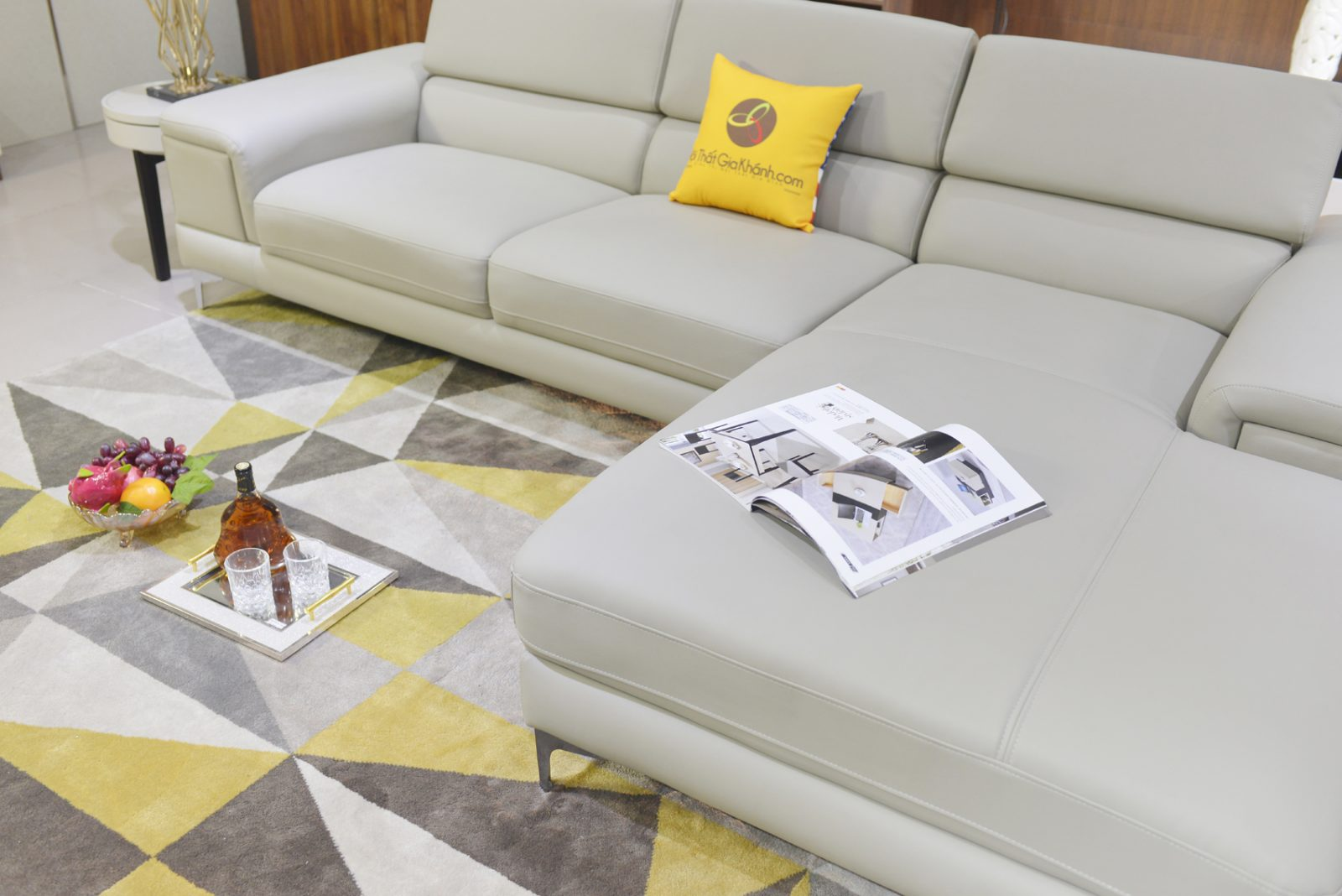 Sofa Hiện Đại Góc Trái 2 Băng Mã 1060Sf2Gt