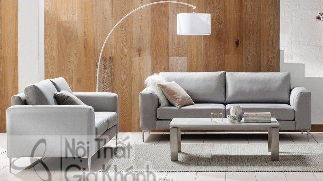 Bộ sofa nỉ phòng khách nhập khẩu