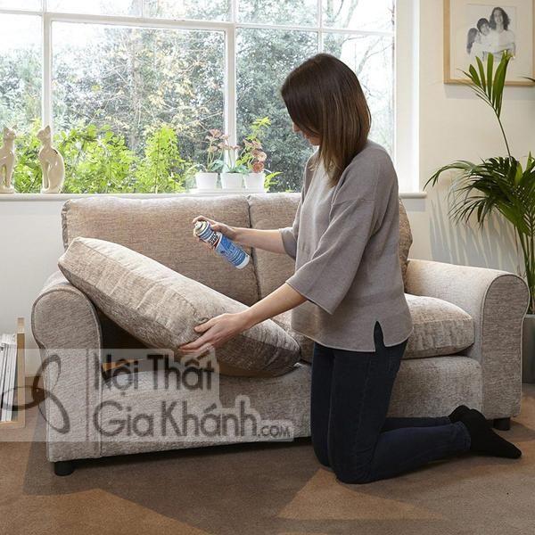 Sofa nỉ nhập khẩu cách làm sạch