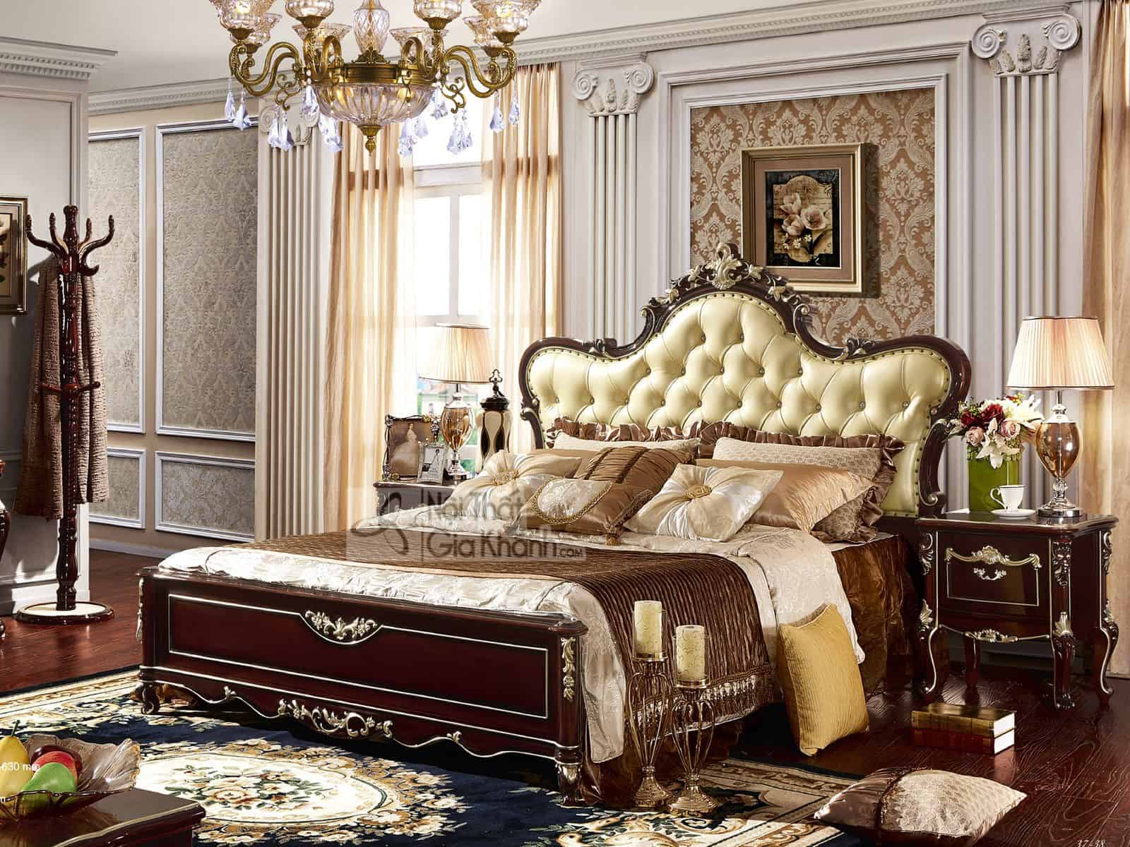Bộ phòng ngủ tân cổ điển sang trọng BN8835G