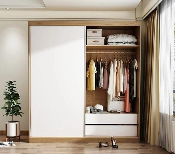 Tủ quần áo không cánh đặc điểm