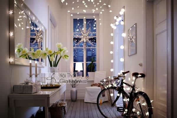 Những cách dùng đèn nháy trang trí đẹp miễn chê - nhung cach dung den nhay trang tri dep mien che 2