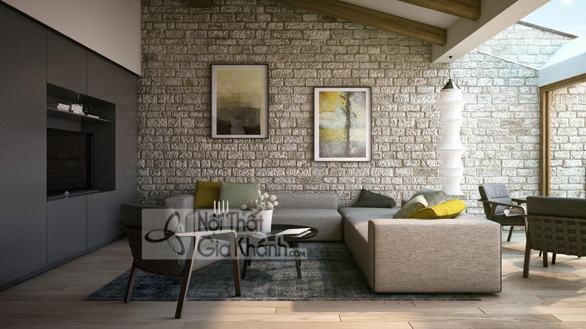 Những gợi ý thiết kế hoàn hảo cho những ai thích phòng khách mộc mạc - nhung goi y thiet ke hoan hao cho ai thich phong khach moc mac 2