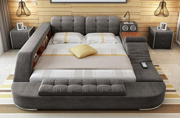 Giường Ngủ Đa Chức Năng Lộng Lẫy