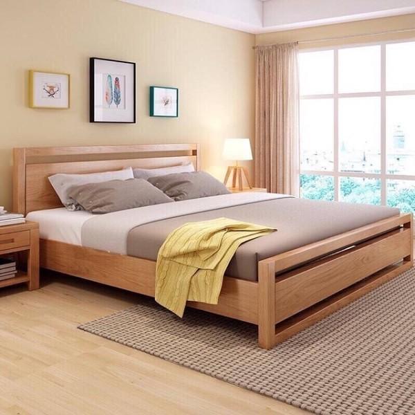 gbố trí giường ngủ kích thước 1m4