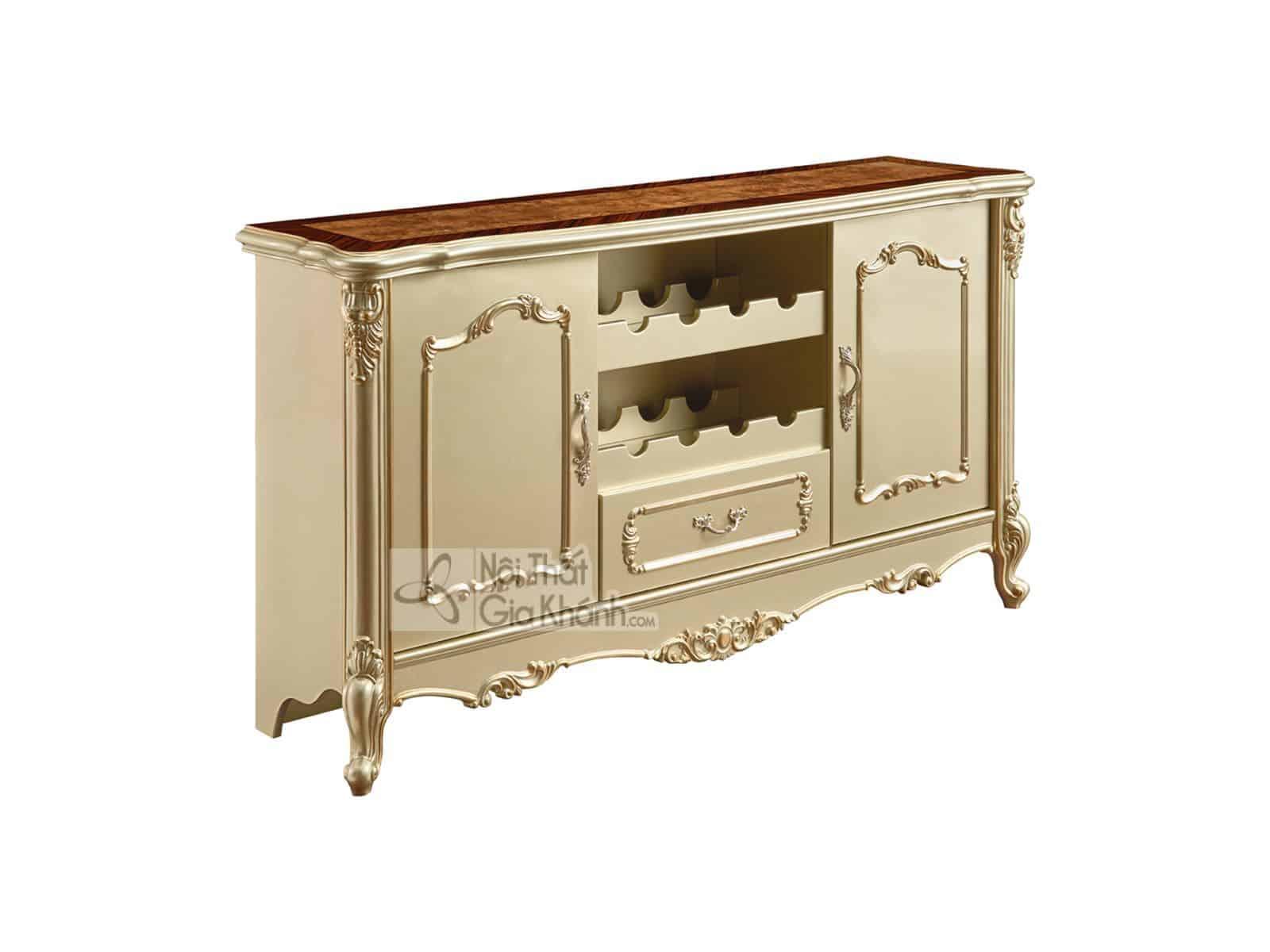 Tủ đồ phòng bếp gỗ nhập khẩu KB8801A (Mẫu mới nhất)