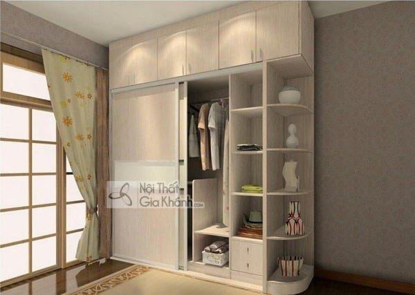 Tủ quần áo gắn tường cho chung cư được nhiều người chọn nhất