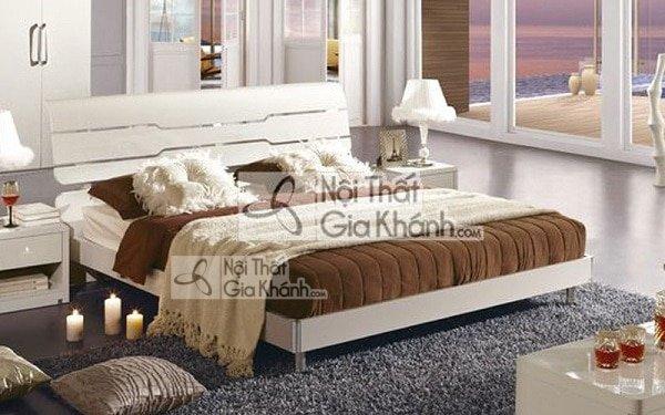 Giường ngủ màu trắng - giuong ngu mau trang 2